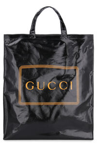 Logo detail tote bag, Totes Gucci man