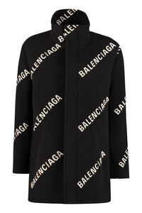 Wool and cashmere coat, Knee Lenght Coats Balenciaga woman