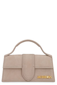 Le Bambino suede handbag, Top handle Jacquemus woman