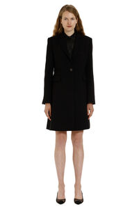 Smentire embellished button coat, Knee Lenght Coats Pinko woman
