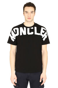 Crew-neck cotton T-shirt, Short sleeve t-shirts Moncler man