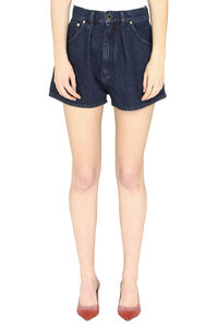 Denim shorts, Denim Shorts Alberta Ferretti woman