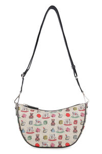 Printed nylon messenger bag, Shoulderbag Etro woman