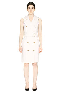 Stretching wool Veranda double-breasted dress, Knee Lenght Dresses Max Mara woman