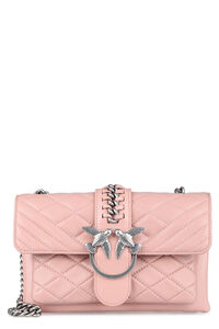 Mini Love quilted leather bag, Shoulderbag Pinko woman