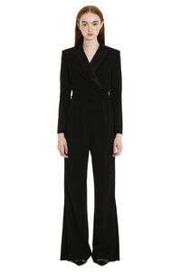 Dover cady tracksuit with satin reverses, Evening jumpsuits Max Mara woman