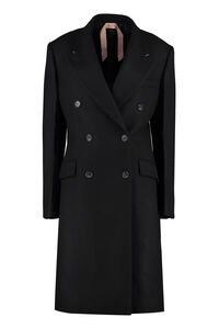Double-breasted wool coat, Double Breasted N°21 woman