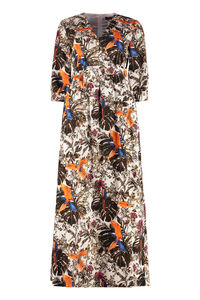Subdolo printed cotton dress, Printed dresses Max Mara Studio woman