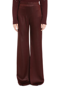 Ortisei cady trousers, Wide leg pants Max Mara Studio woman