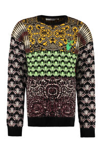 Jacquard sweater, Crew necks sweaters Off-White man