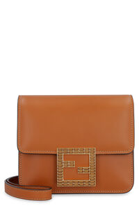 Fendi Fab leather mini crossbody bag, Shoulderbag Fendi woman