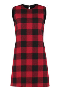 Tartan-wool dress, Mini dresses Dsquared2 woman