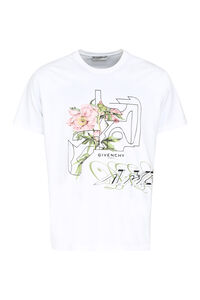 Printed cotton T-shirt, Short sleeve t-shirts Givenchy man