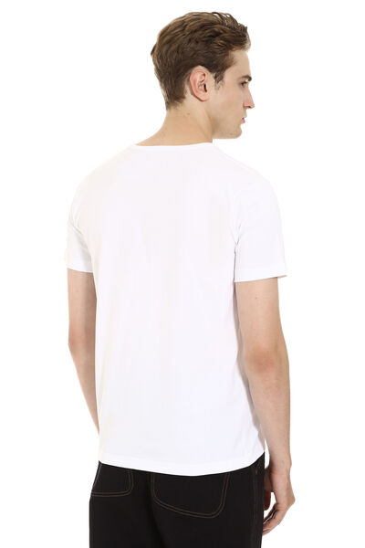Crew-neck cotton t-shirt