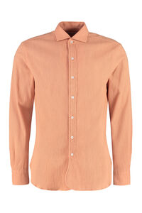 Aanacapri embossed-cotton shirt, Plain Shirts DoppiaA man
