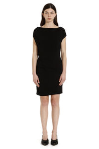 Draped sheath dress, Knee Lenght Dresses Versace woman