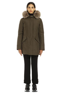 Arctic padded parka with fur hood, Down Jackets Woolrich woman
