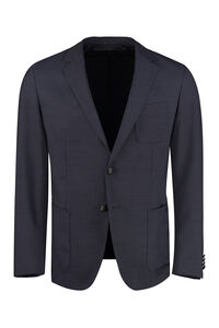 Nolvay single-breasted two button jacket, Single breasted blazers BOSS man