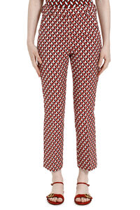 Capale flared hem cropped trousers, Straight Leg pants Weekend Max Mara woman