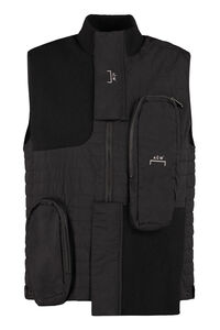 Full zip field vest, Gilets A-COLD-WALL* man