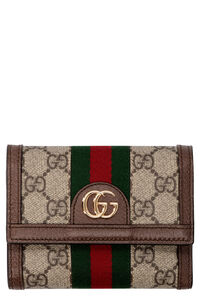 Ophidia logo print flap-over wallet, Wallets Gucci woman