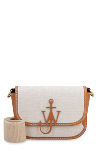 Nano Anchor canvas and leather crossbody bag, Shoulderbag JW Anderson woman
