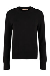 Crew-neck cashmere sweater, Crew neck sweaters Tory Burch woman