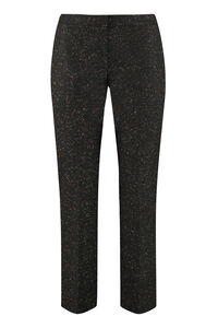 Wool-mohair blend tailored trousers, Trousers suits Alexander McQueen woman
