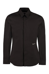 Stretch poplin shirt, Plain Shirts Givenchy man