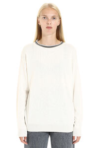 Cashmere crew-neck sweater, Crew neck sweaters Brunello Cucinelli woman