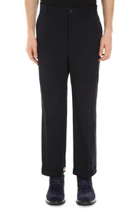 Cotton trousers, Casual trousers Thom Browne man