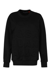 Cotton crew-neck sweatshirt, Sweatshirts Dolce & Gabbana woman