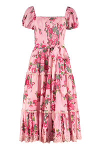 Masie printed cotton dress, Printed dresses LoveShackFancy woman