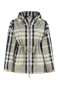Hooded windbreaker, Raincoats And Windbreaker Burberry woman