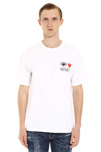 Printed cotton t-shirt, Short sleeve t-shirts Kenzo man