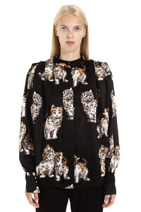 Printed blouse, Blouses MSGM woman