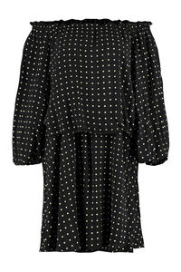 Carly polka-dot mini-dress, Printed dresses ROTATE  Birgerchristensen woman
