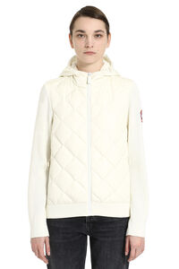 HyBridge knit jacket with padded panel, Casual Jackets Canada Goose woman