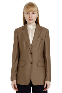 Rosina camel-wool and silk blend blazer, Blazers Max Mara woman