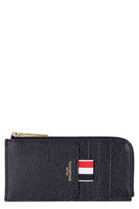 Pebbled leather coin purse, Wallets Thom Browne man
