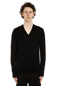 Virgin wool pullover, V-necks Dolce & Gabbana man