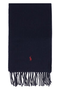 Double face wool scarf, Scarves Polo Ralph Lauren man