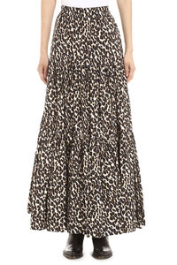 Printed cotton maxi skirt, Printed skirts La DoubleJ woman