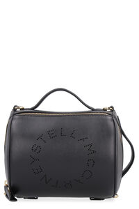 Small faux leather boston bag, Top handle Stella McCartney woman
