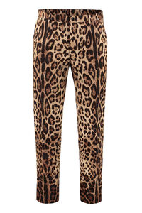 Printed cotton trousers, Casual trousers Dolce & Gabbana man