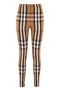 Checked stretch trousers, Skinny leg pants Burberry woman