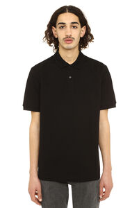 Cotton piqué polo shirt, Short sleeve polo shirts Bottega Veneta man