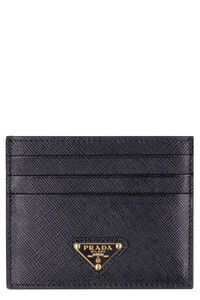 Saffiano leather card holder, Wallets Prada woman