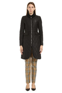 Quilted riding-coat, Knee Lenght Coats Burberry woman