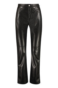 Vinni faux leather trousers, Leather pants Nanushka woman
